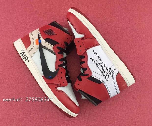 huge selection of 3e717 ec1aa OFF WHITE Air Jordan 1 Chicago Detailed Photos | SneakerNews.com