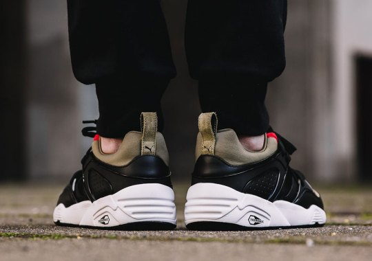 "Puma Releases A Blaze of Glory In ""Olive"" Colors"