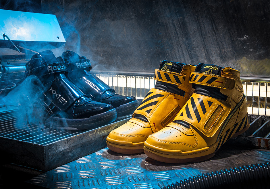 Reebok continues their Alien Stomper series with a special two-pack of the  shoe worn by Ripley in the 1986 film Aliens db7add97d