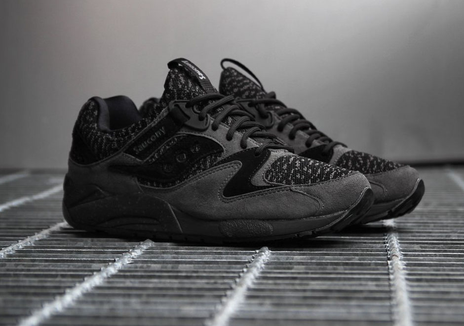 saucony grid 9000 knit review