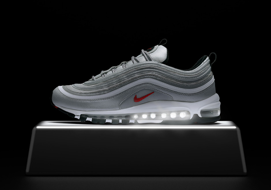 new style 5fe19 2be3d Nike Air Max 97. Global Release Date  April 13th, 2017  160. Color   Metallic Silver Varsity Red-Black-White