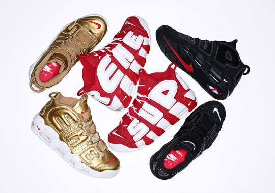 The Supreme x Nike Air More Uptempo Releases This Thursday