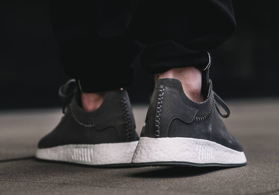 16e36fec7 ... (gray ash off white) wings+horns adidas NMD R2 Leather Release Date  April 27th