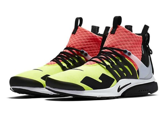ACRONYM x Nike Air Presto Among Several Random Restocks On Nike Brasil