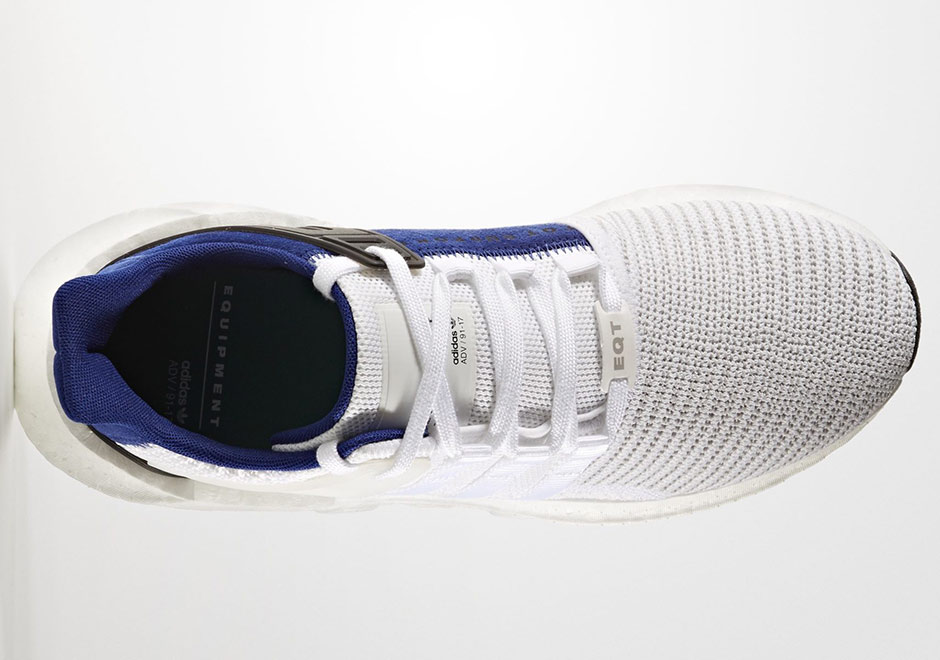 sale retailer d0acc adc01 adidas EQT Support 9317 WhiteRoyal BZ0592  SneakerNews.com