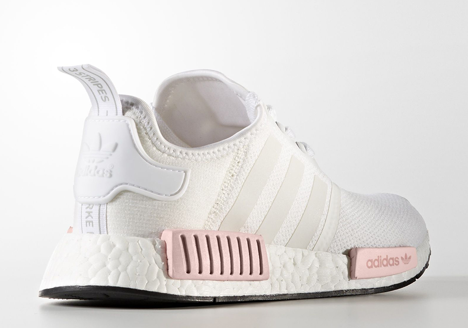 adidas nmd womens pink rose