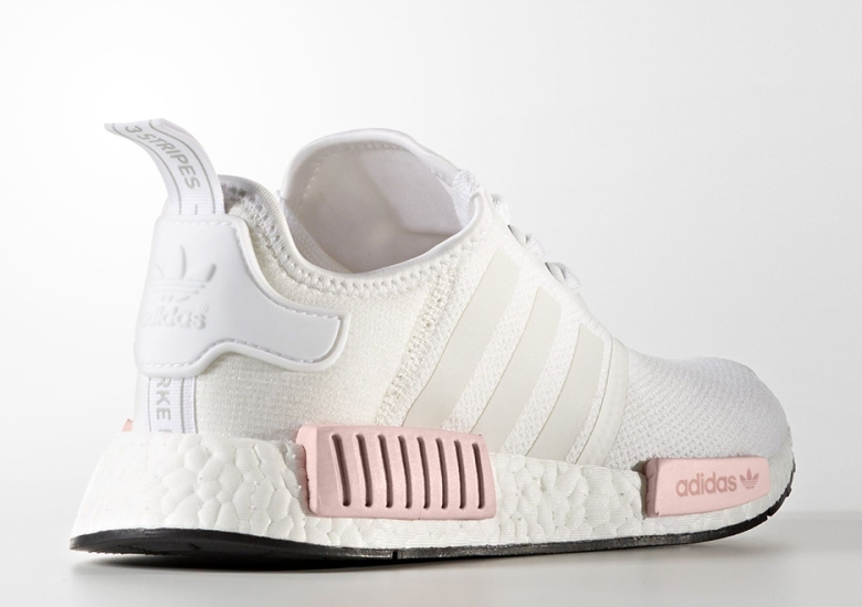 new concept 06082 9774e adidas NMD White Rose Release Date BY9952 | SneakerNews.com