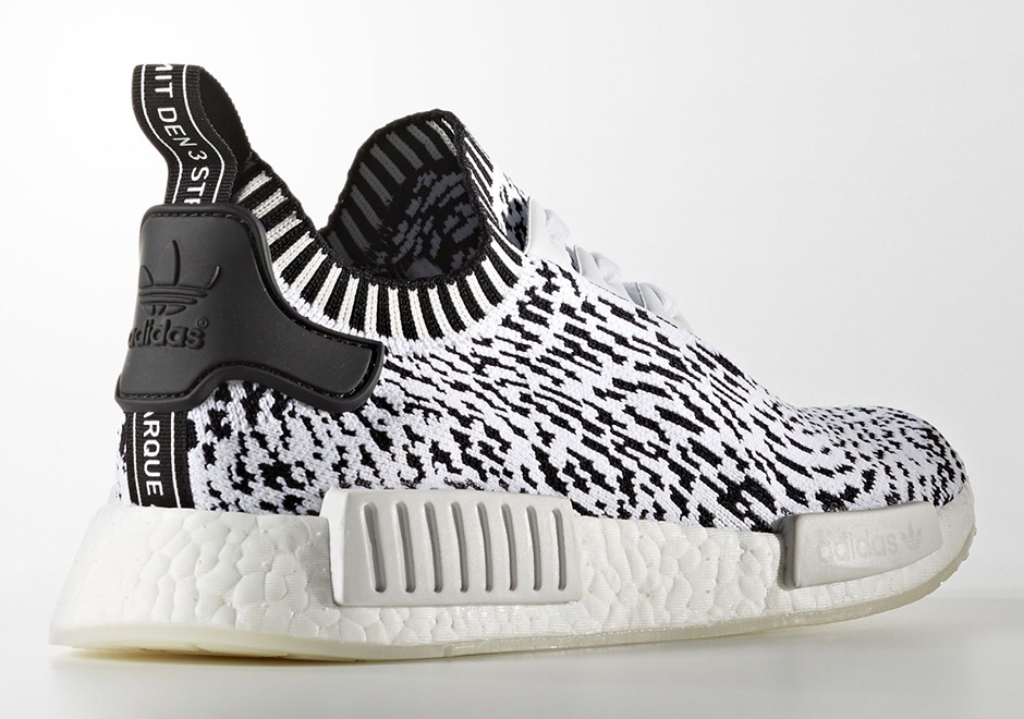 f75fa116e adidas NMD R1 Zebra Detailed Look