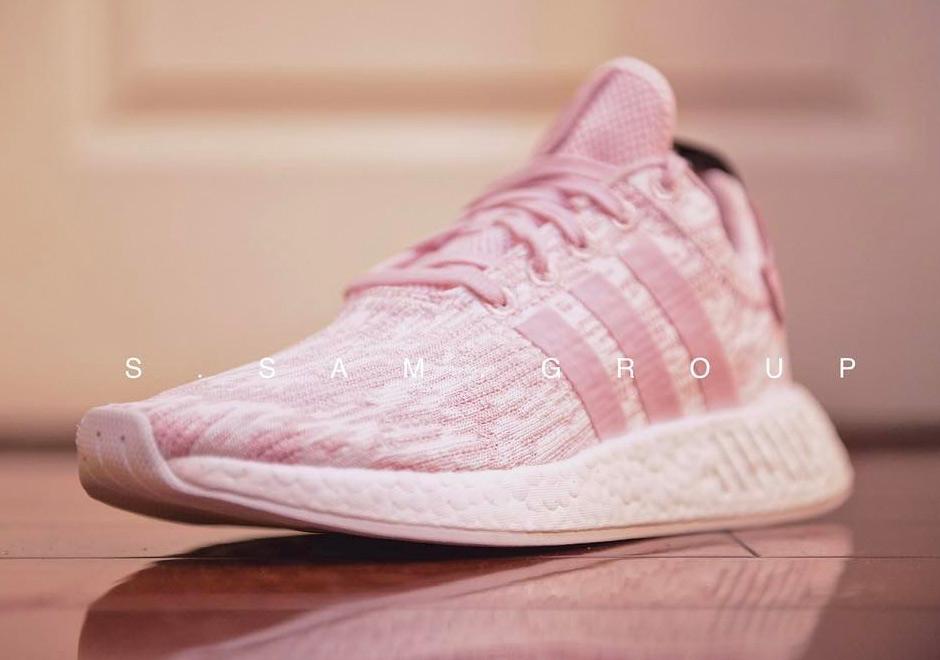 adidas pastel rose trainers