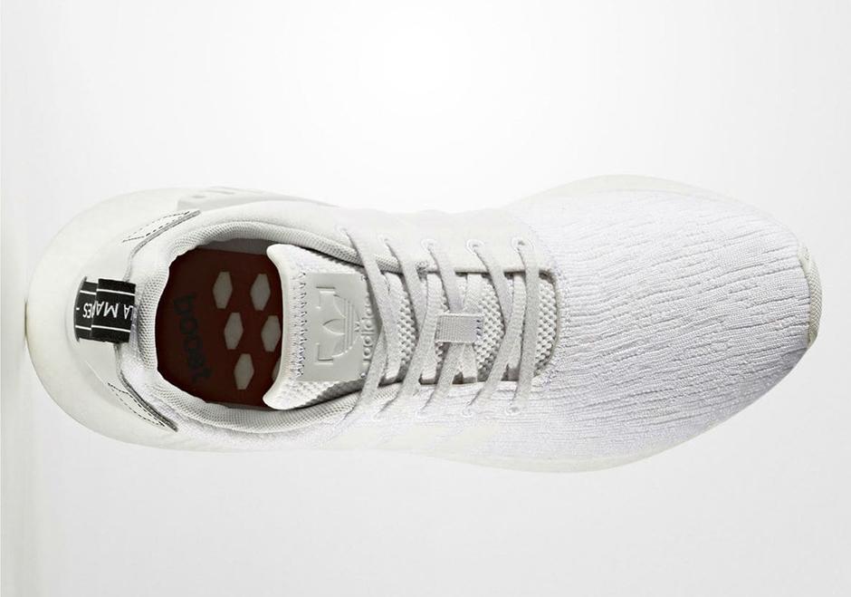 Adidas Nmd Hommes Blancs R2 V1iVkF