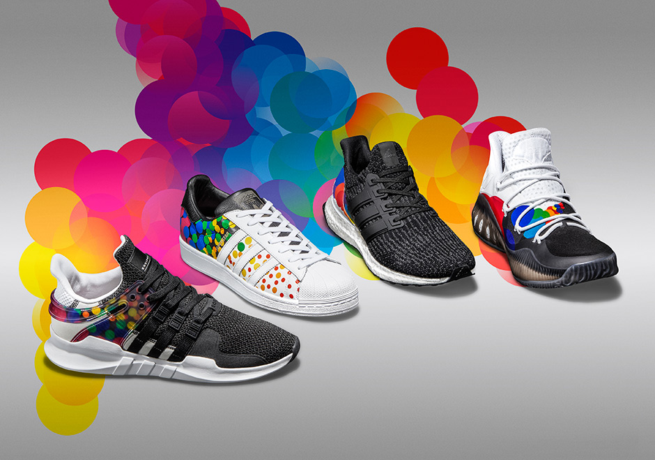 super popular 58e7c 11409 Youve seen collections from Nike, and Converse celebrating diversity and  the LGBTQ community for 2017, and now adidas presents their own Pride  collection.