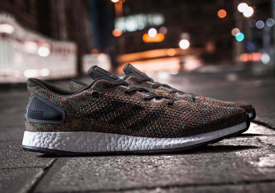 be551b32df77 adidas Pure BOOST Rainbow CG2993 Release Date