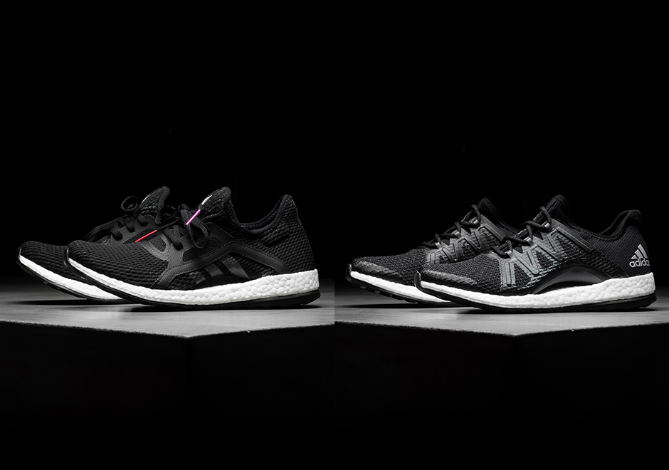 new product 2162b f80d9 adidas continues to roll out new Boost models, as today we get a look at 2  new options of the adidas Pure Boost X and the adidas Pure Boost XPose  available ...
