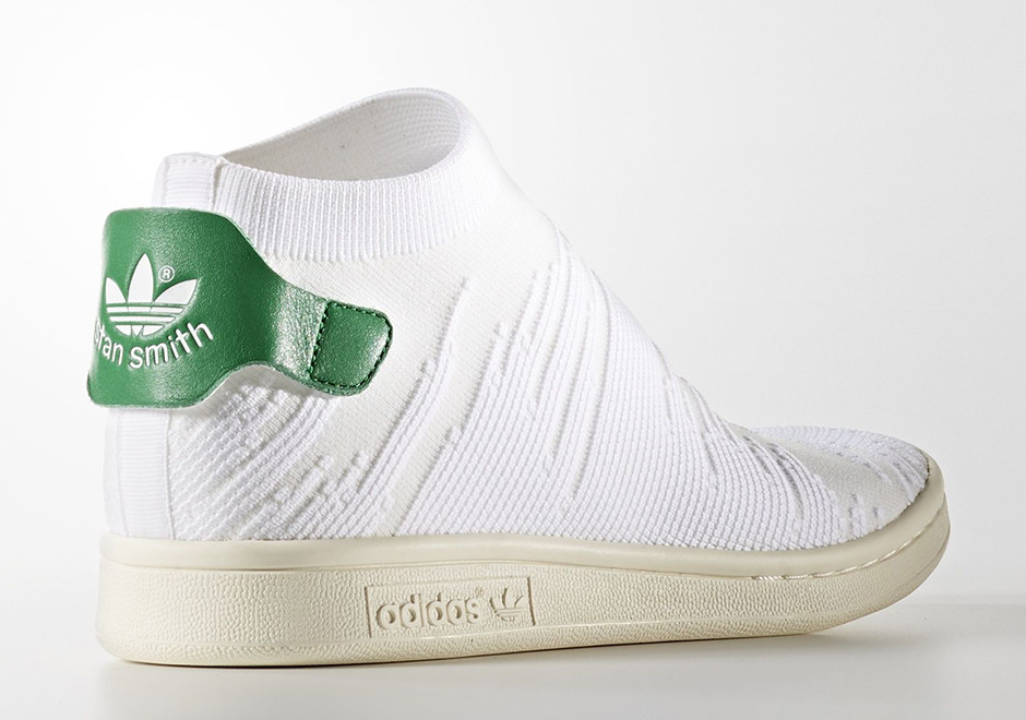 adidas Stan Smith Sock Primeknit Global Release Date: Summer 2017
