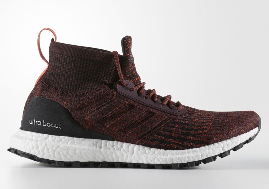 """Official Images Of The adidas Ultra Boost ATR Mid """"Burgundy"""""""