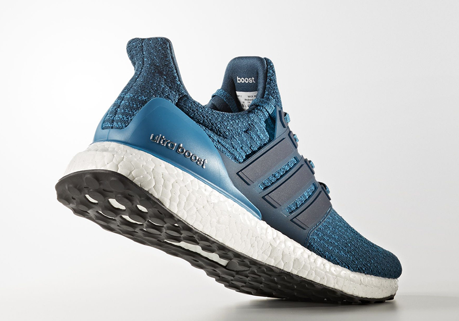 "buy popular b5d33 e841d adidas Ultra Boost 3.0 ""Blue Petrol"" Release Date  July 2017  180. Color  Blue  Petrol Blue Petrol-FTWR White Style Code  S82021"