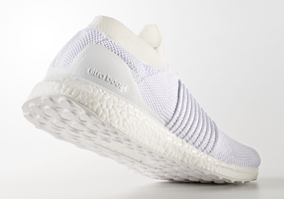"4815d97a9fe4d adidas Ultra Boost Laceless ""Triple White"" Release Date  August 1"