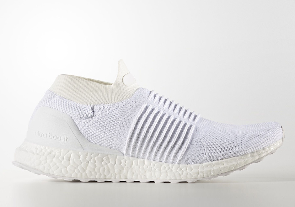 3eede99335e3 adidas Ultra Boost Laceless Mid Triple White S80768