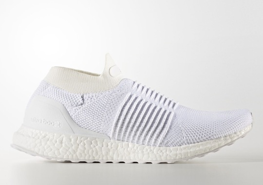"""adidas Ultra Boost Laceless Mid """"Triple White"""""""