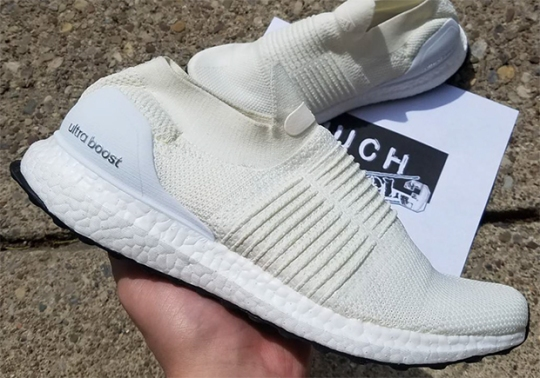 Detailed Look At The Laceless adidas Ultra Boost