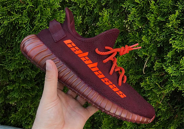 watch a6ddf babd3 Now You Can Match Your Kanye Calabasas Sweatpants with This Custom Yeezy  Boost 350