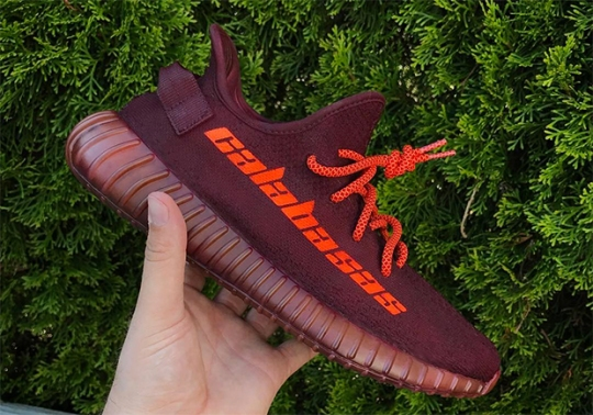 Now You Can Match Your Kanye Calabasas Sweatpants with This Custom Yeezy Boost 350