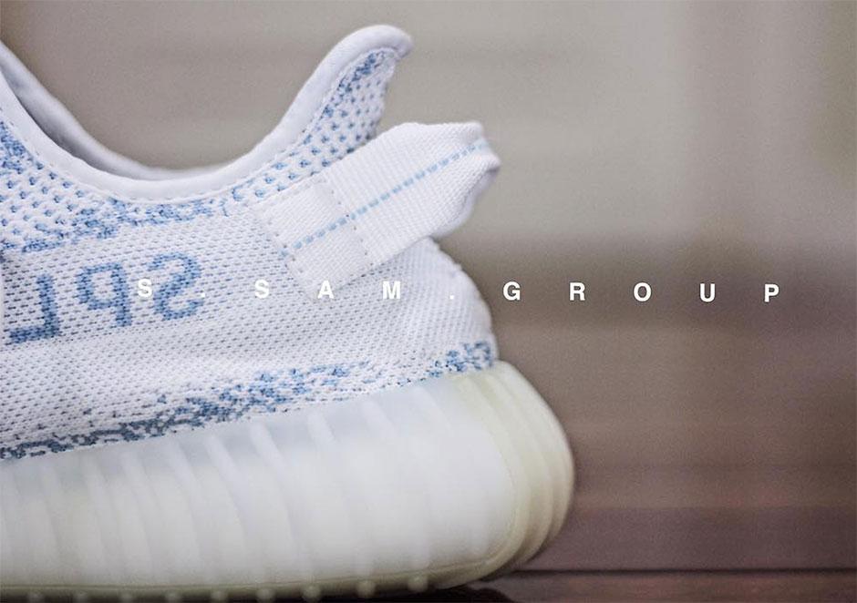 f082c961c90cb adidas Yeezy Boost 350 v2 White Blue Zebra