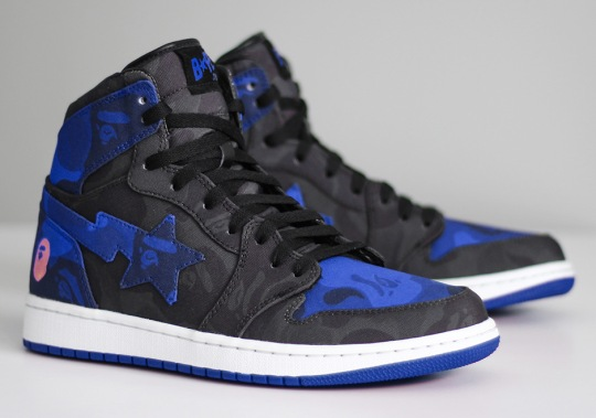 What If There Was A BAPE x Air Jordan 1?