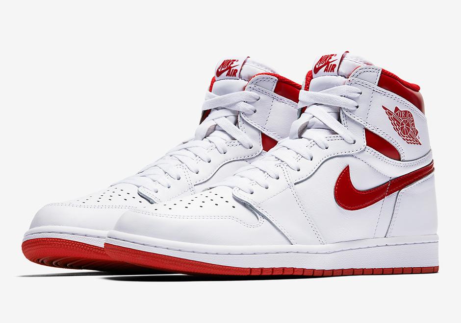 "454f4cf0a117b2 Will The Air Jordan 1 ""Metallic Red"" Hit The Sales Racks Too"