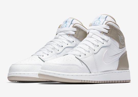 "The Air Jordan 1 Mid ""Linen"" Is Available"