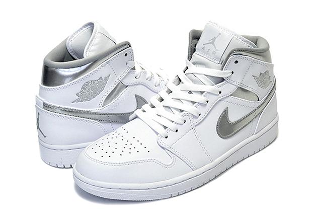 Air Jordan 1 Mediados Zapatos Retro Puro Dinero Sn7uvKrYZ4
