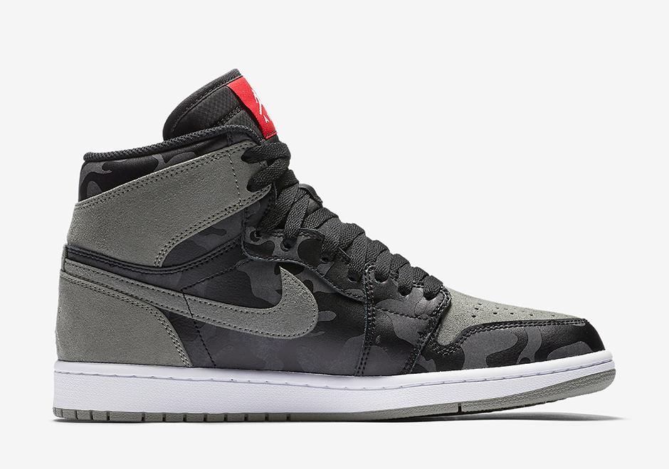 Air Jordan 1 Mi Sneaker Nouvelles Logo mhbtE