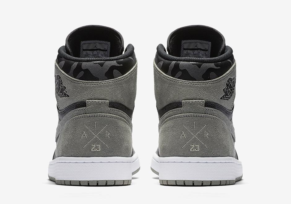 Air Jordan 1 Mi Sneaker Nouvelles Logo 80olIwkyI9