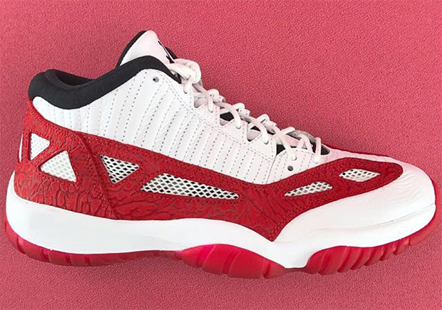 """Air Jordan 11 IE Low """"Fire Red"""" Coming This Summer ae0078639d"""
