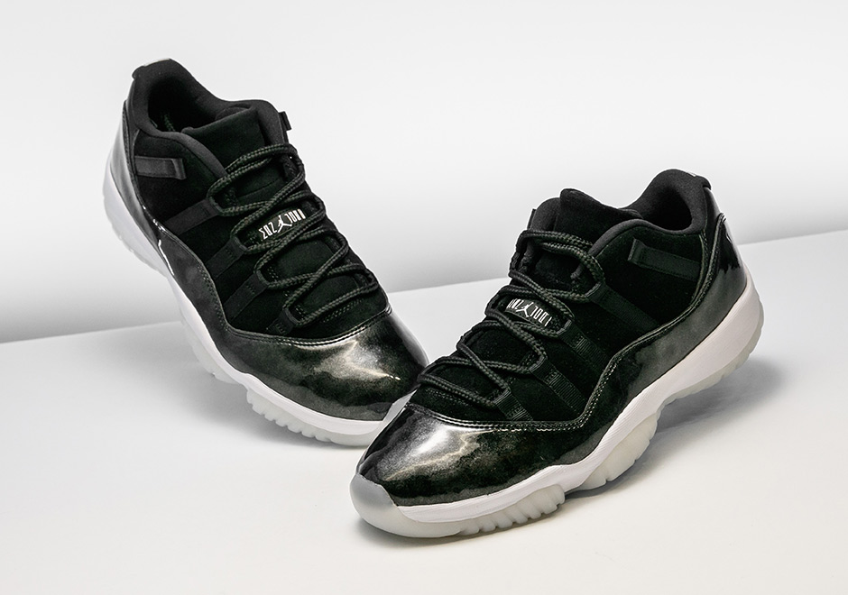 promo code 3ecd4 41460 Air Jordan 11 Low Barons Available Early Stadium Goods ...