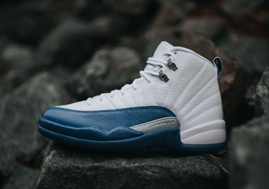 "The Air Jordan 12 ""French Blue"" Just Restocked On Nike.com"