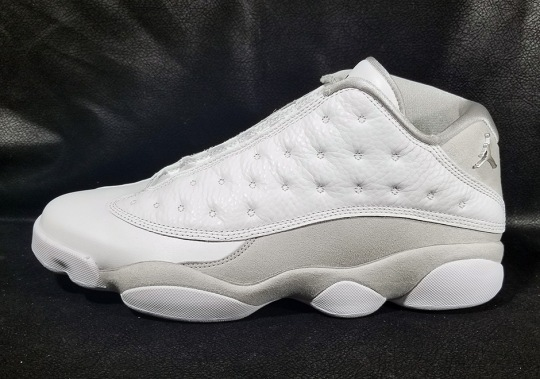 "Air Jordan 13 Low ""Pure Money"" Releases On May 20th"