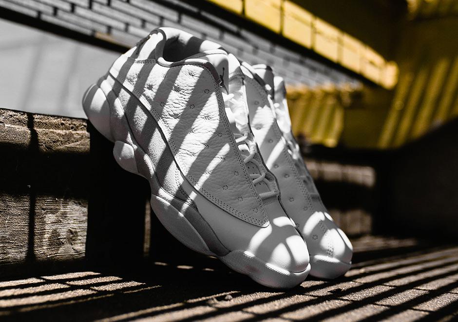 low priced a7cda 1af71 Where To Buy Air Jordan 13 Low Pure Money | SneakerNews.com