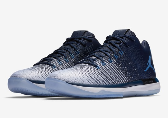 "Air Jordan 31 Low ""UNC"" Releases Next Week"