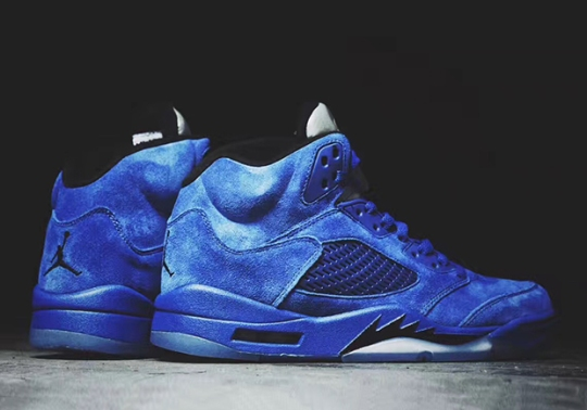 """The Air Jordan 5 """"Blue Suede"""" Releases This September"""
