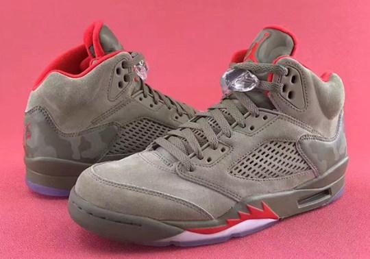 "The Air Jordan 5 ""Camo"" Releases September 2nd"