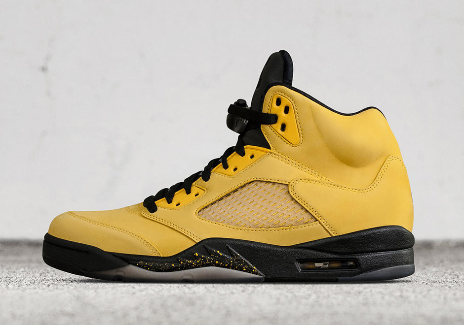 "This Air Jordan 5 ""Fab Five"" PE was issued to friends and family of the  brand and will not release to the public. e19178334"