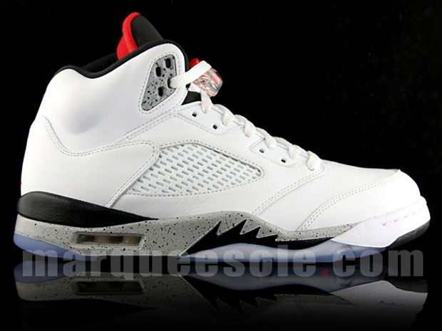 new styles 996aa 8343c Air Jordan 5 White Cement Release Date 136027-104 ...