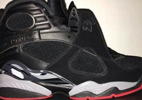 "The Air Jordan 8 ""Bred"" To Release Summer 2017"