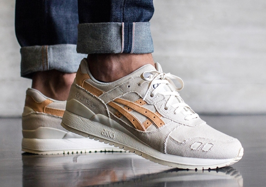 The ASICS Gel Lyte III Gets Reworked With Denim and Tan Leather
