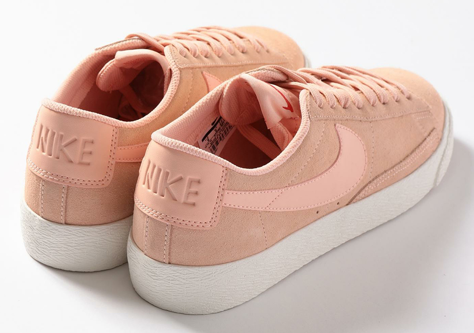 Tokyo Shop Beauty & Youth Updates The Nike Blazer Low In Light Pink Suede