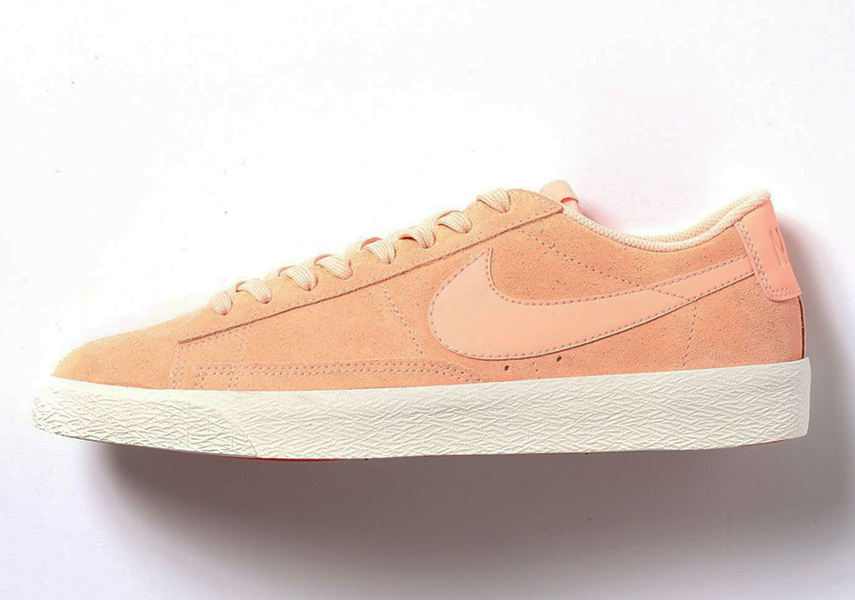 Nike Blazer Low Suede Rosa PbaORyaNse