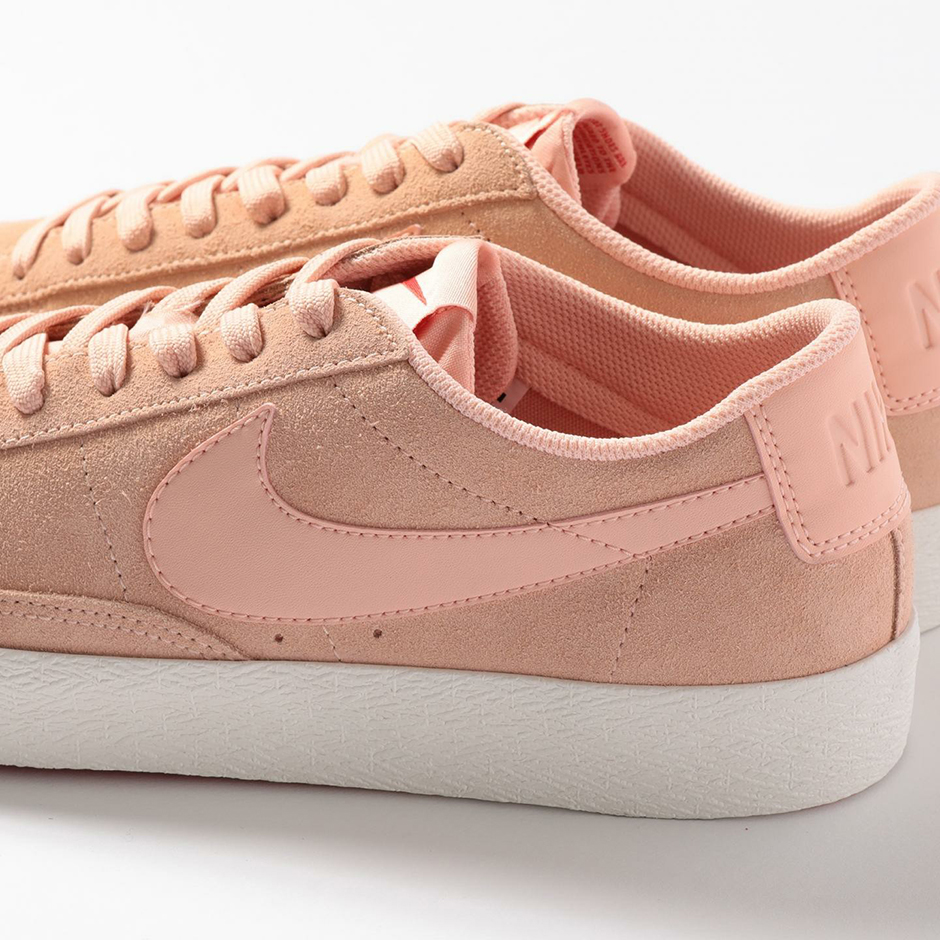 online store 3073e a83ab ... czech the simplicity of the beauty youth nike blazer low pink suede  should make these a