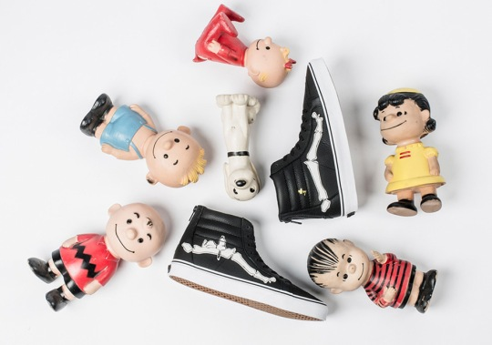 """Blends, Vans, And Peanuts Celebrate 67 Years Of Snoopy & Co. With Limited """"Bones"""" Release"""