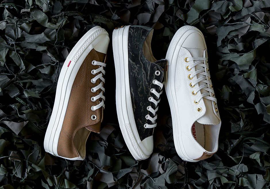 1833900b0fbe Carhartt WIP is the latest imprint given the chance to flex their  collaborative muscles atop a Converse classic after the likes of UNDFTD